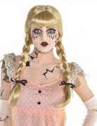 Puppen-Perücke für Damen Halloween-Perücke blond