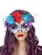Tag der Toten-Augenmaske Halloween-Maske verziert bunt