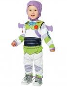 Buzz Lightyear™-Kostüm für Kleinkinder Toy Story™ Karneval weiss-violett-grün