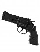Eindrucksvolle Polizei-Pistole schwarz 21cm