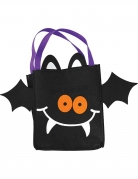 Fledermaus-Tasche Beutel für Süsses-oder-Saures-Touren schwarz