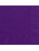 Servietten Papierservietten 20 Stück lila 25 x 25 cm