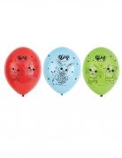 Bing™-Latexballons für Kinder 6 Stück bunt 27 cm
