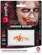 Zombie-Wunde falsche Wunde Halloween Make-up rot