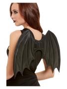 Fledermaus-Flügel für Erwachsene schwarz 50cm