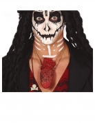 Blutige Herz-Kette Halloween-Accessoire rot
