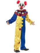 Killer-Clown-Kinderkostüm Halloween-Kostüm bunt