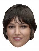 Ursula Corbero-Maske Bankräuber-Maske Karton beige-braun