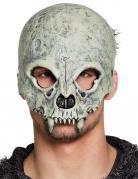 Totenkopf-Maske Halloween-Maske beige