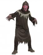Dämonen-Kostüm für Kinder mit Maske Halloweenkostüm schwarz