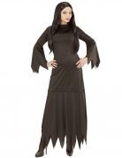 Gothic-Kostüm für Damen Hexenkostüm Halloweenkostüm schwarz