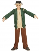 Monster-Kinderkostüm Halloweenkostüm grün-braun