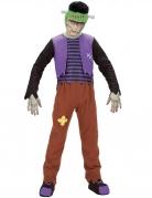Überlebendes Monster Kostüm für Jungen Halloweenkostüm bunt