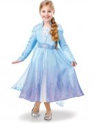 Elsa-Kostüm für Mädchen Frozen 2™ Faschingskostüm blau
