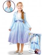 Die Eiskönigin 2™ Kinderkostüm Frozen™-Kostüm Elsa für Mädchen blau