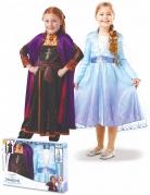 Frozen 2™-Paarkostüm für Kinder Anna und Elsa Faschingskostüm bunt