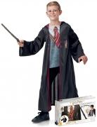 Harry Potter™-Kostüm für Kinder Geschenkekoffer mit Kostüm und Accessoires schwarz-rot-grau