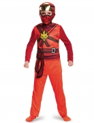 Kai Ninja-Kostüm Lego Ninjago™ für Jungen rot-braun-goldfarben