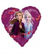 Frozen 2™-Folienballon Anna und Elsa Raumdekoration pink 43 cm