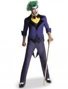 Klassisches Joker™-Kostüm für Herren Halloweenkostüm violett-gelb-schwarz
