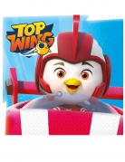 Top Wing™-Servietten Partydeko 16 Stück bunt 33x33 cm