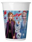 Wunderschöne Frozen 2™-Trinkbecher für Kinder 8 Stück bunt 200 ml