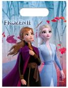 Frozen 2™ Geschenktüten für Mädchen 6 Stück bunt 23 x 16,5 cm