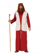 Josef-Kostüm Hirten-Kostüm für Erwachsene rot-weiss