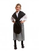 Kastanien-Verkäuferin-Kostüm Marktfrau-Kostüm für Mädchen
