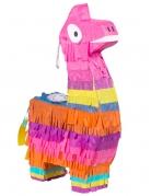 Lama Mini-Piñata bunt 23 x 13 cm