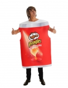 Pringles™-Kostüm humorvolles Karnevalskostüm rot