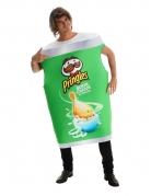 Pringles™-Kostüm für Erwachsene Sour Cream and Onion grün