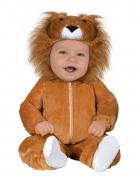 Baby-Löwen-Kostüm Tier-Overall für Babys braun