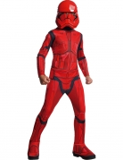 Sith Trooper™-Kostüm für Kinder Star Wars™ rot