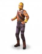 Fortnite™-Kostüm Raptor™ Kinder gelb-braun