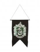 Slytherin-Standarte Harry Potter™-Hängedeko schwarz-weiss-grün