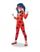 Ladybug™-Kostüm für Kinder Overall mit Maske rot-schwarz
