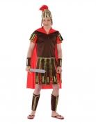 Römer-Kostüm für Jugendliche Jungenkostüm Fasching braun-rot