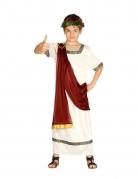 Römisches Herrscherkostüm für Jungen Faschingskostüm weiss-rot
