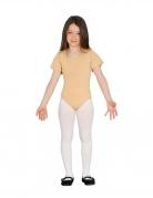 Ballerina-Body für Mädchen beigefarben