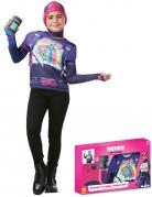 Brite Bomber-Kostümkoffer für Mädchen Fortnite™ Faschingskostüm violett