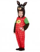 Bing™-Kostüm für Kinder schwarz-rot