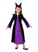 Offizielles Maleficent™-Kostüm für Mädchen schwarz-violett