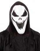 Skelett-Mörder-Maske für Erwachsene Halloween-Maske schwarz-weiss