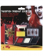Vampir-Make-up-Set mit Accessoire Halloween bunt