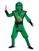 Lloyd LEGO™ Ninjago™-Legacy-Kostüm für Jungen Faschingskostüm grün-gold-schwarz