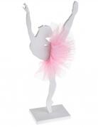Ballerina-Deko Figur aus Holz  17 x 20 cm