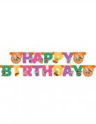 44 Cats™-Girlande für Kindergeburtstag Partydeko bunt 2 m