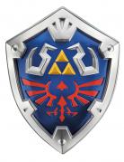 Link™-Schild für Kinder Zelda™-Accessoire Cosplay blau-silber-rot 48 x 38 x 9 cm