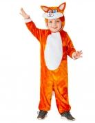 Schlauer Fuchs Kinder-Kostüm für Karneval orangefarben-weiß